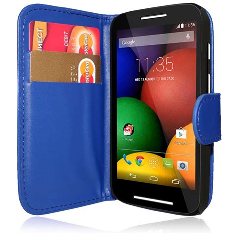 Saver Mobil 3a 1 flip wallet leather pouch cover for motorola moto e