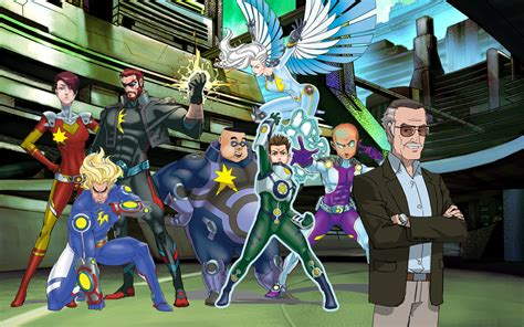 Watch Stan Lees Mighty 7 2014 Watch A Clip From Stan Lee S Mighty 7 Animated Telefilm