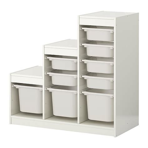 ikea tool storage trofast storage combination with boxes white white