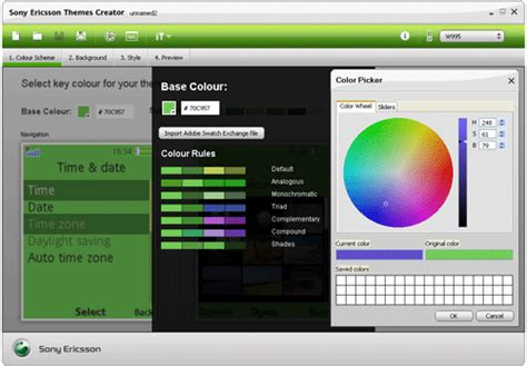 sony theme creator how to use sony ericsson theme creator freeware en download