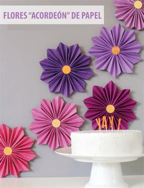 como hacer decoraciones con papel imagenes fantasia y color flores de papel para decorar