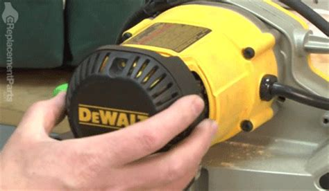 How To Replace The Brush Ring Assembly On A Dewalt Dw718