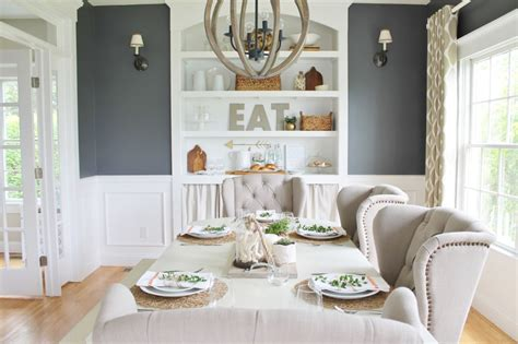 Dining Room With Navy Curtains Grey Walls Navy Curtains Curtain Menzilperde Net