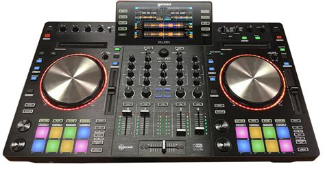 console dj gemini contr 244 leur dj et mixer autonome gemini sdj 2000 avec port