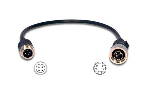 Mini Dan 4 s mini din 4 pins 4 pin mini din verloopkabel aansluitkabel achteruitrijcamera