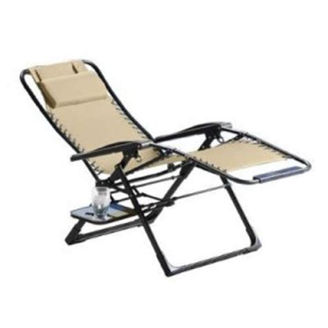 sunbrella zero gravity recliner sunbrella zero gravity suspension lounge chair beige