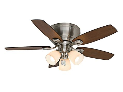 ceiling fans nickel finish casablanca 53187 durant brushed nickel finish 44 quot wide