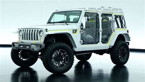jl jeep is the jeep safari concept a preview of the wrangler