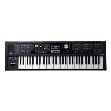 Keyboard Roland 3 Jutaan Disc Roland V Combo Vr 09 Keyboard At Gear4music