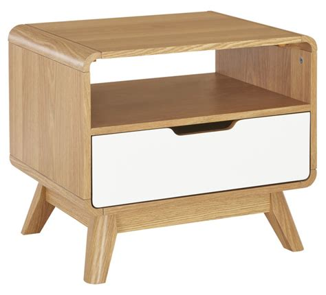 Fantastic Furniture Side Tables Retro 1 Drawer L Table Living Room Living Dining