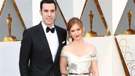 And Isla Fisher Oscar Twinkies by Isla Fisher Smuggled Husband Sacha Baron Cohen S Ali G