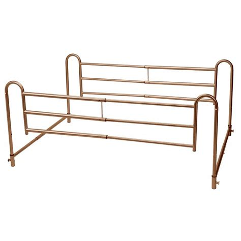 adjustable bed rails home bed style adjustable length bed rails 1 pair drive