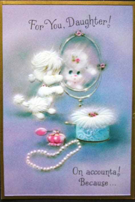 vintage birthday card poodle part of my vintage greeting pin by east on they say it s your birthday
