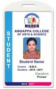 Student Id Template by Id Card Coimbatore Ph 97905 47171 College Id Card