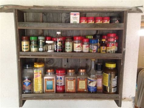 diy barn wood spice rack barn wood spice rack decor spice