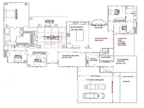 bedroom blueprint 5 bedroom house plans one story simple 5 bedroom house