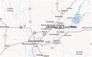 air bases california map mcclellan air base weather station record