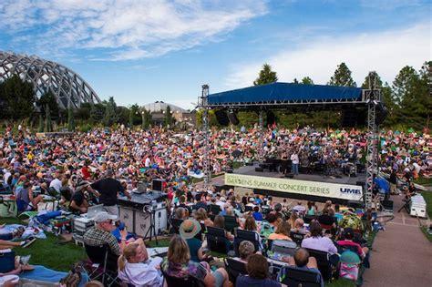 Denver Botanic Gardens Concert by Booking Artists For The Summer Concert Series Denver