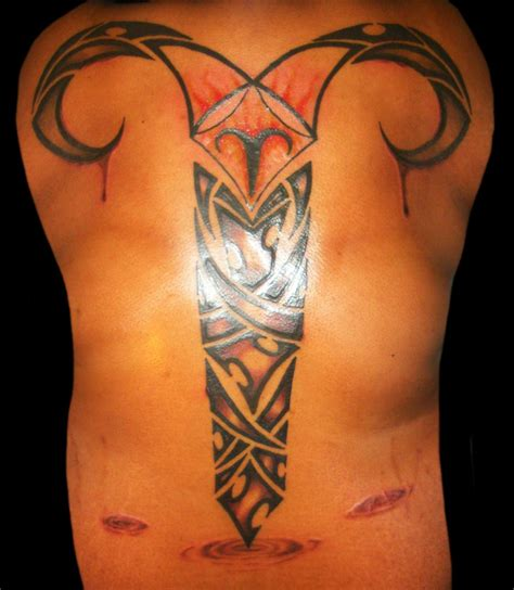 aries tribal tattoo 50 best aries tattoos for amazing ideas