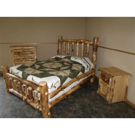 log bedroom sets aspen log furniture