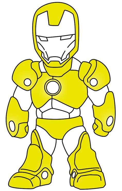 Gambar Chibi Iron fizgraphic freebies doodle ironman