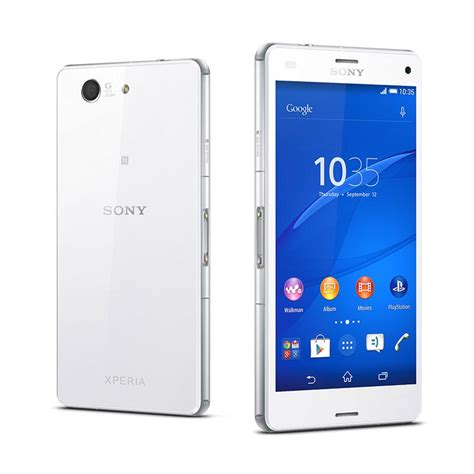 Hp Sony Z3 Lte jual sony xperia z3 compact d5833 smartphone white lte