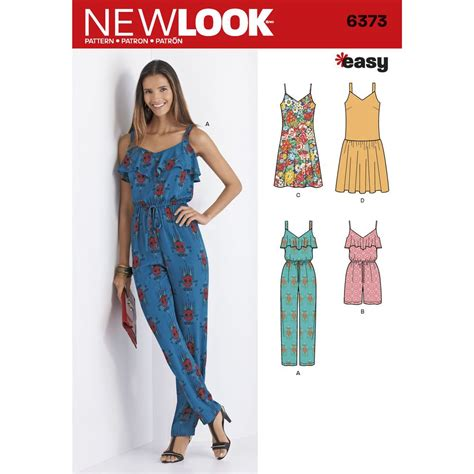 dress pattern jumpsuit misses easy pattern includes long jumpsuit and drop waist