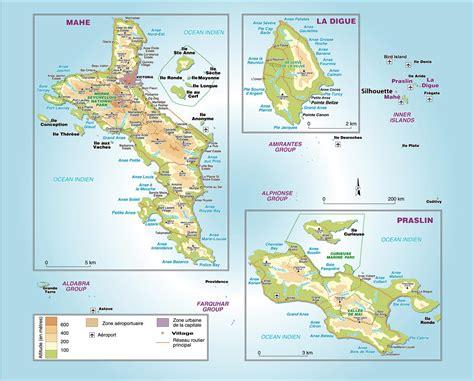 la carte et le 2081365456 les seychelles carte voyages cartes