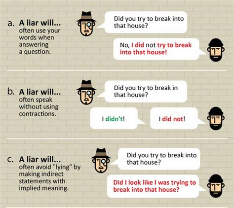 7 Hows To Spot A Liar by How To Spot A Liar 8 Pics
