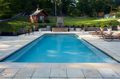 square swimming pool rectangle pools traditional pool new york by