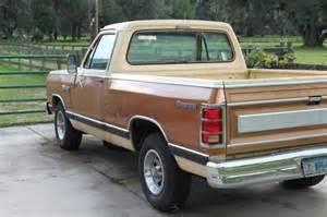 buy used 1985 dodge ram d 150 d150 royal se v8 prospector