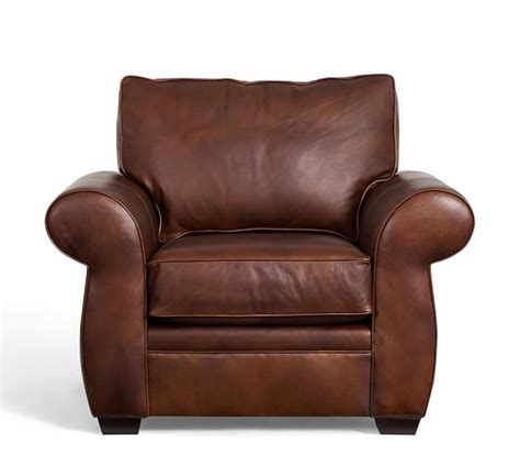 pottery barn leather armchair pearce leather armchair pottery barn