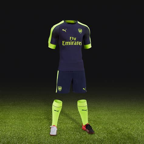 arsenal yellow kit arsenal just dropped their away kit and third strip in the