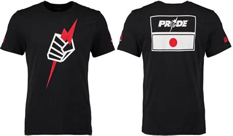 Kaostshirt Pride Mma Ufc ufc reebok pride dual blend shirt