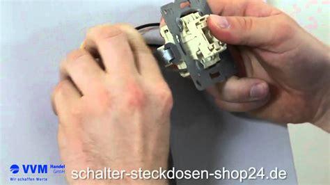 kreuzschalter schalterwechsel leichtgemacht youtube