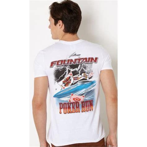 fountain boats apparel fountain poker run t shirt