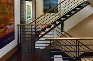 custom interior railings by home stairs railings inc