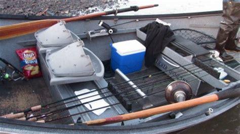 drift boat setup winter chrome steelhead outdoor callings
