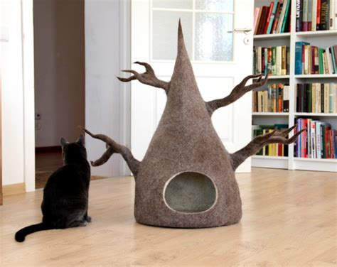5 stylish modern cat trees for design lovers etikaprojects com do it yourself project