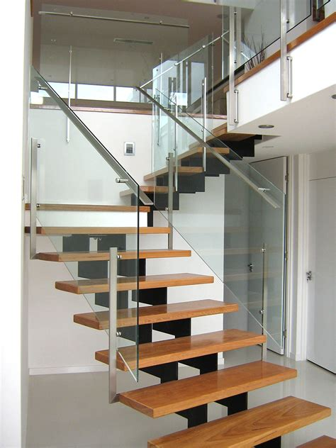 Staircase Balustrade by Frameless Glass Stair Balustrade In Bulimba Private
