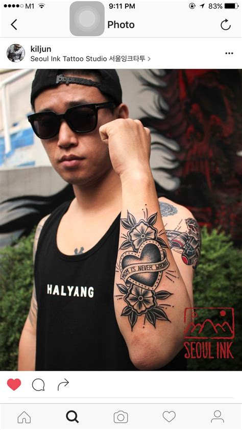 kang gary tattoo gary new tattoos credit as tagged kang gary개리