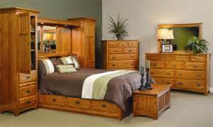 Pier Bedroom Furniture Amish Monterey Pier Wall Bed Unit With Platform Storage