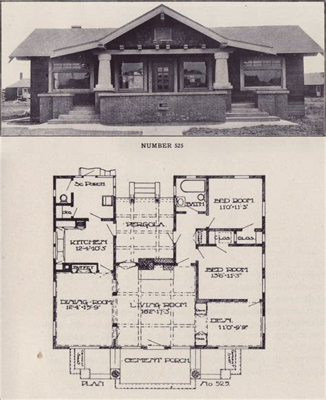 chicago bungalow house plans 17 best images about historic craftsman bungalow on