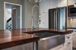 Countertop For Kitchen Island by Can Undermount Sink Be Used With Wood Countertops