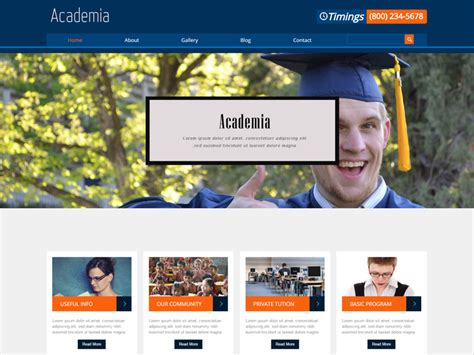 bootstrap templates for education free download academia free responsive education bootstrap template