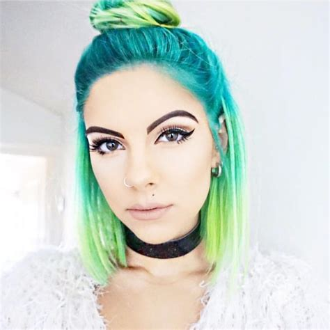 green colored 18 gorgeous green colored hairstyle ideas 2019 hairstyle