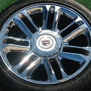 Cadillac Stock Rims 22 Inch Cadillac Factory Rims