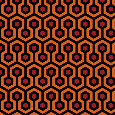 shining rug pattern fabric pattern based on the iconic carpet in the the shining
