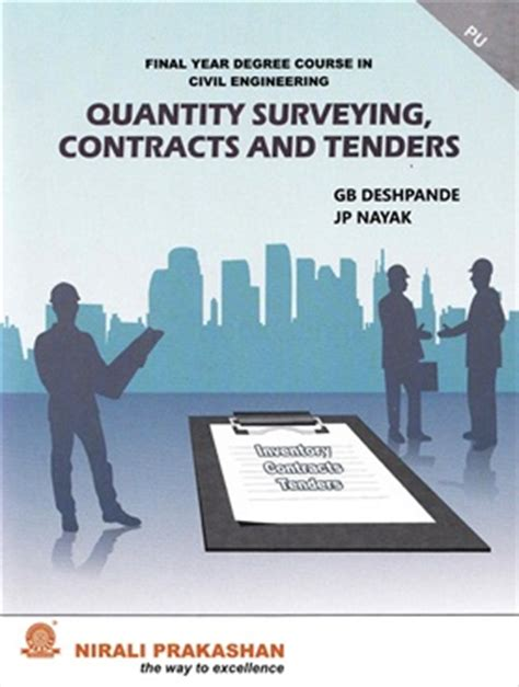civil engineering quantities book quantity surveying contracts tenders civil engineering