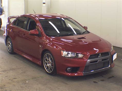 evo mitsubishi 2010 japanese car auction find 2010 mitsubishi lancer evo gsr